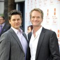 David Burtka and Neil Patrick Harris pose for a picture at The Trevor Project's annual Trevor LIVE held at The Hollywood Palladium in Hollywood on December 5, 2010
