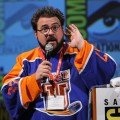 Kevin Smith speaks during a panel discussion at Comic-Con 2010 held at San Diego Convention Center on July 24, 2010