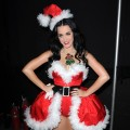 Katy Perry poses backstage during the Y100 Jingle Ball at BankAtlantic Center on December 11, 2010 in Sunrise, Florida
