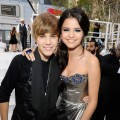 Justin Bieber and Selena Gomez arrive at the 2010 MTV Video Music Awards held at Nokia Theatre L.A. Live in Los Angeles on September 12, 2010