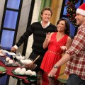 Dean McDermott shares his tasty holiday treat recipes with Billy Bush and Kit Hoover on Access Hollywood Live on December 13, 2010