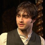 "Daniel Radcliffe on the set of ""The Woman in Black"" on November 29, 2010"