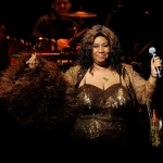Aretha Franklin performs after she was inducted into the Apollo Legends Hall of Fame at the 2010 Apollo Theater Spring Benefit Concert & Awards Ceremony at The Apollo Theater in New York City on June 14, 2010