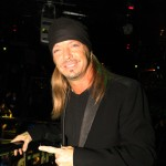 Bret Michaels smiles as he hits The Bank Nightclub at the Bellagio to perform some of his hits, Las Vegas, Dec. 4, 2010