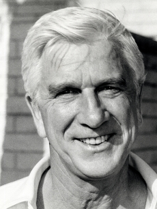 Leslie Nielsen during Charity Golf Tournament at The Beverly Wilshire Country Club in Beverly Hills, Calif., on July 26, 1983
