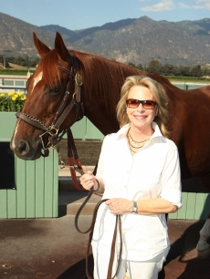 Ronni Chasen in Santa Anita, California on September 27, 2010