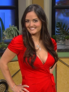 Danica McKellar Visits Access Hollywood Live