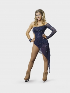 Brooke Castile of ABC&#8217;s &#8220;Skating with the Stars&#8221;