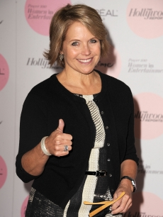 Katie Couric attends The Hollywood Reporter's Power 100: Women In Entertainment Breakfast at the Beverly Hills Hotel, Beverly Hills, December 7, 2010