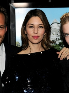 Stephen Dorff, Sofia Coppola and Elle Fanning arrive at Focus Features' 'Somewhere' premiere at ArcLight Hollywood on December 7, 2010 in Hollywood, California.