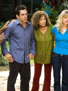 Dustin Hoffman, Ben Stiller, Barbra Streisand, Teri Polo and Blythe Danner in Universal Pictures&#8217; &#8220;Meet the Fockers&#8221;