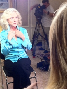 Blythe Danner chats with Access Hollywood at the &#8220;Little Fockers&#8221; junket on December 12, 2010