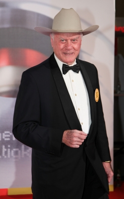 Larry Hagman attends the German Sustainability Awards event at the Maritim Hotel, Duesseldorf, Germany, November 26, 2010