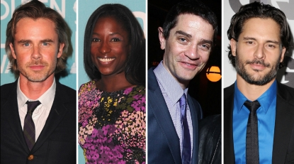 Sam Trammell, Rutina Wesley, James Frain and Joe Manganiello