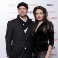 "Brad Pitt and Angelina Jolie attend ""The Tourist"" premiere at The Space Cinema in Rome, Italy, on December 15, 2010"