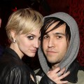 "Ashlee Simpson and Pete Wentz attend the ""X Life"" Launch Party at Beso in Hollywood, California on December 15, 2010"