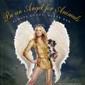 """Chuck's"" Yvonne Strahovski is PETA's 2010 Christmas Angel for Animals"