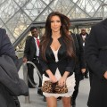 Kim Kardashian sighting in Paris at le musée du Louvre on September 15, 2010 in Paris, France