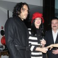 Russell Brand and Katy Perry visit Le Cirque on December 23, 2010 in in New York.