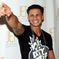 "Paul ""Pauly D"" Delvecchio poses on the red carpet at JET Nightclub at The Mirage, Las Vegas, Jan. 1, 2011"
