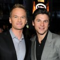 Neil Patrick Harris and David Burtka arrive at the 2011 People's Choice Awards at Nokia Theatre L.A. Live in Los Angeles on January 5, 2011