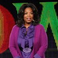 Oprah Winfrey speaks during the OWN: Oprah Winfrey Network portion of the 2011 Winter TCA press tour held at the Langham Hotel, Pasadena, January 6, 2011
