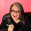 "Roseanne Barr promotes her book ""Roseannearchy"" at Borders Columbus Circle in NYC on January 6, 2011"