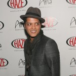 Bruno Mars Hosts New Year's Day at Haze Nightclub in Las Vegas on January 1, 2011