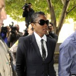 Janet Jackson arrives for the second day of the preliminary hearing for Dr Conrad Murray in Los Angeles on January 5, 2011