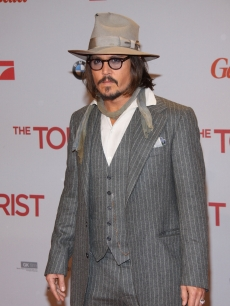 "Johnny Depp attends the ""The Tourist"" European premiere at CineStar on December 14, 2010 in Berlin, Germany"
