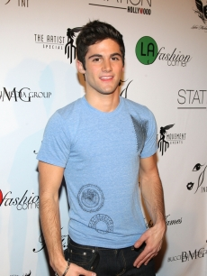 Max Ehrich arrives for LA Fashion Corner 3rd Annual Red Carpet Holiday Fashion Show on December 15, 2010 in Hollywood
