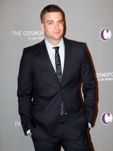 """Glee"" star Mark Salling hits The Cosmopolitan Grand Opening and New Year's Eve Celebration with Jay-Z and Coldplay at Marquee Nightclub in The Cosmopolitan on December 31, 2010 in Las Vegas"