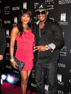 Vivica A. Fox and Omar &#8220;Slim&#8221; White arrive at LeBron James&#8217; 26th birthday party at Coco de Ville at The Gansevoort in Miami Beach, Florida on December 30, 2010