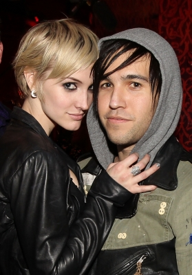 Ashlee Simpson and Pete Wentz attend the &#8220;X Life&#8221; Launch Party at Beso in Hollywood, California on December 15, 2010