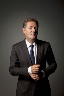 "Piers Morgan in his publicity shot for ""Piers Morgan Tonight"" on CNN, 2011"