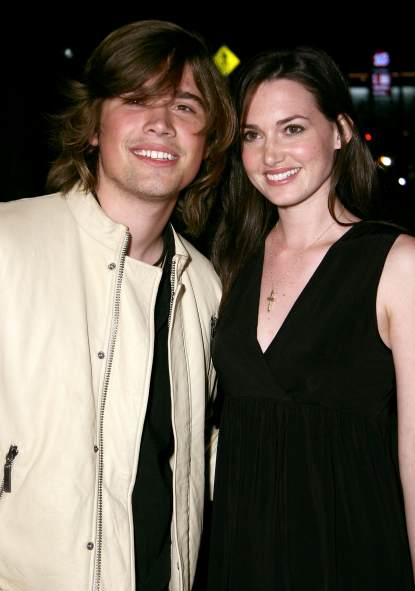 Zac Hanson and his wife Kathryn Tucker arrive at the Warner Independent Pictures&#8217; &#8220;Darfur Now&#8221; screening held at the Directors Guild of America in Los Angeles on October 30, 2007 