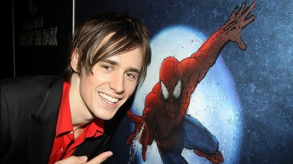 "Reeve Carney of 'Spider-Man: Turn Off The Dark"" on Broadway"