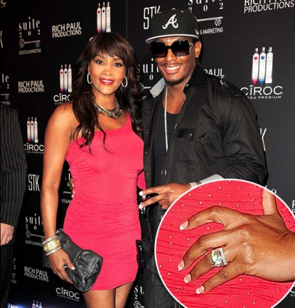 "Vivica A. Fox and Omar ""Slim"" White arrive at LeBron James' 26th birthday party at Coco de Ville at The Gansevoort in Miami Beach, Florida on December 30, 2010"