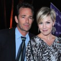 Joking Around With Jennie Garth & Luke Perry At The 2011 Winter TCAs