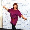 Carrie Fisher attends the Jenny Craig press conference at Midtown Loft & Terrace in New York City on January 12, 2011