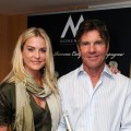Dennis Quaid and his wife Kimberly Quaid pose at the 2011 DPA Golden Globes Gift Suite at the L'Ermitage Hotel in Beverly Hills, Calif. on January 13, 2011