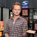 Neil Patrick Harris plays with an Air Hog Pocket Copter from Spin Master