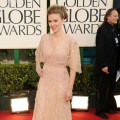 Scarlett Johannsson arrives at the 68th Annual Golden Globe Awards held at The Beverly Hilton hotel in Beverly Hills on January 16, 2011