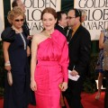 Julianne Moore arrives at the 68th Annual Golden Globe Awards held at The Beverly Hilton hotel in Beverly Hills on January 16, 2011