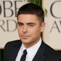 Zac Efron arrives at the 68th Annual Golden Globe Awards held at The Beverly Hilton hotel in Beverly Hills on January 16, 2011