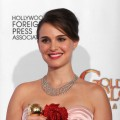 Natalie Portman poses in the press room at the 68th Annual Golden Globe Awards held at The Beverly Hilton hotel on January 16, 2011