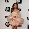 Jennifer Lopez arrives at the Fox Searchlight 2011 Golden Globe Awards Party held at The Beverly Hilton hotel on January 16, 2011