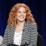 &#8220;Off The Map&#8217;s&#8221; Rachelle Lefevre speaks at the Disney ABC Television Group&#8217;s portion of the TCA Winter Press Tour panel at The Langham Hotel in Pasadena, Calif. on January 10, 2011