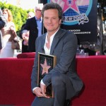 Colin Firth attends a ceremony honoring him with the 2,429th Star on The Hollywood Walk of Fame in Hollywood on January 13, 2011
