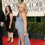 Jane Krakowski shows off her baby bump at the 68th Annual Golden Globe Awards held at The Beverly Hilton hotel in Beverly Hills on January 16, 2011